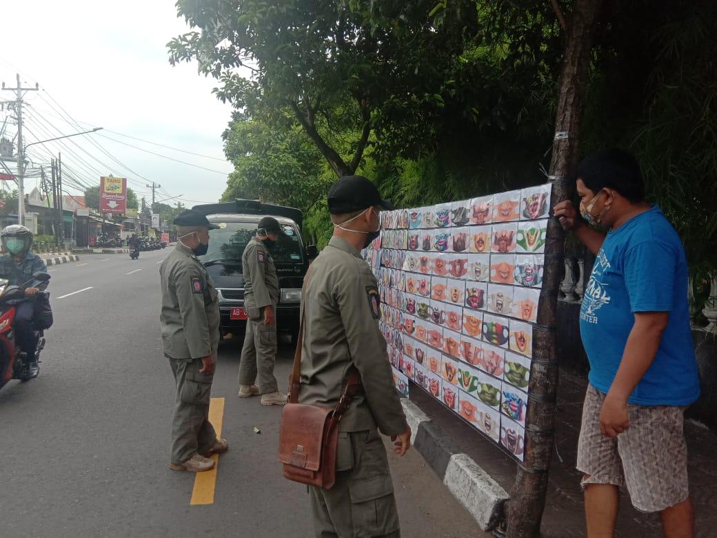 Penertiban PKL Yg Melanggar Perda 26 Tahun 2002 di Wilayah Kecamatan Jetis