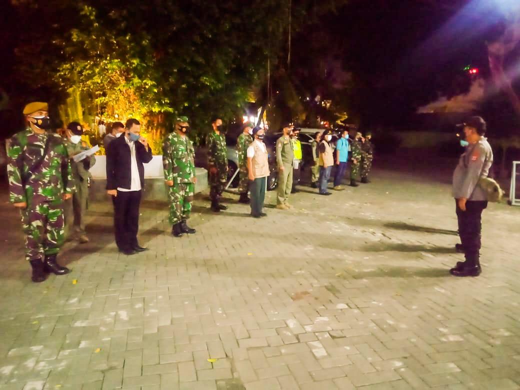 Kemantren Jetis Lakukan Monitoring Pelaksanaan PPKM Darurat
