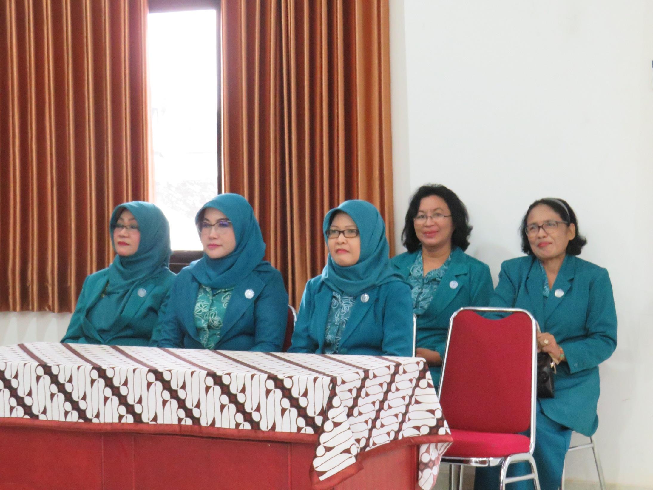 Pelantikan dan Pengukuhan Pengurus PKK Kelurahan tahun 2019 Kecamatan Jetis